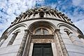 Portal of the Baptistry of St. John (close up view), Piazza dei Miracoli (-Square of Miracles-), Pisa, Tuscany, Central Italy.jpg