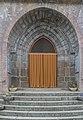 Portal of the Saint Eligius Church in Saint-Chely-d'Aubrac.jpg
