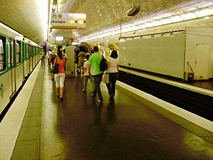 Porte d'Auteuil (Paris Métro) - Image: Porte d'Auteuil métro 02