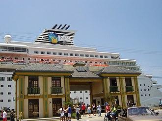 Itajaí - Entrance of Port of Itajaí