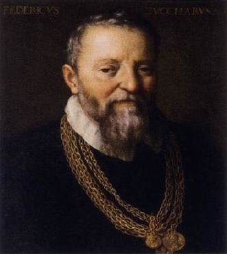 Federico Zuccari - Self-portrait,  after 1588