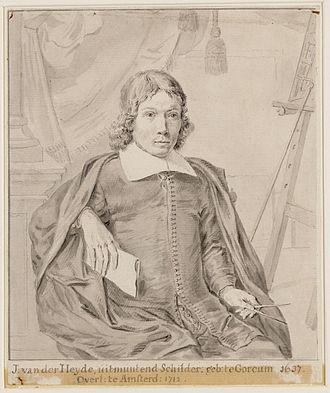 Jan van der Heyden - Portrait of Jan van der Heyden