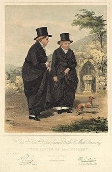 7cbec034db3 Lady Eleanor Butler   Miss Ponsonby  The Ladies of Llangollen