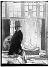 Portrait of the Artist by William Orpen. Figure in front with nude statue of a woman in the rear. LCCN2014688147.jpg