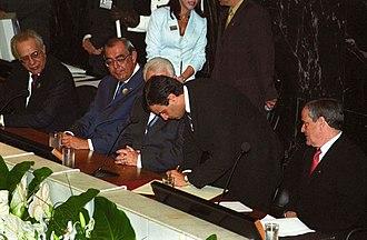 Aécio Neves - Neves upon becoming governor of Minas Gerais on 1 January 2003.