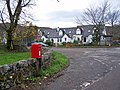 Post box and housing, Balmacara Square - geograph.org.uk - 1590896.jpg