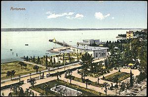 Portorož - Portorož in 1912