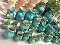 Pottery in Iran - qom فروشگاه سفال در ایران، قم 01.jpg