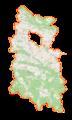 Powiat krośnieński (województwo podkarpackie) location map.png
