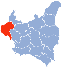 Location of Poznań