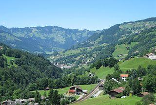 Küblis Municipality of Switzerland in Graubünden