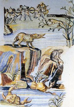 Praeneste - Nile Mosaic - Section 2 - Dal Pozzo