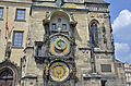 Prague (Praha, CZ) - Karlsplatz (Karlovo nám) Uhrenturm.JPG