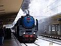 Praha-Smíchov, Křivoklát expres, lokomotiva Albatros.jpg