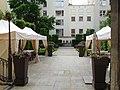Praha Nove Mesto Hybernska 12 Hotel Grand Mark zahrada.jpg