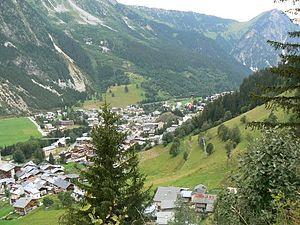 Pralognan-la-Vanoise - A general view of Pralognan-la-Vanoise