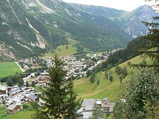 Pralognan-la-Vanoise Commune in Auvergne-Rhône-Alpes, France