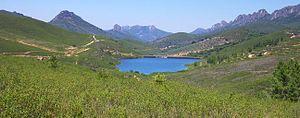 Sierra de Villuercas - The Sierra de Villuercas and Santa Lucia Dam