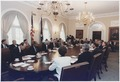 President Bush participates in a full cabinet meeting in the cabinet room - NARA - 186454.tif