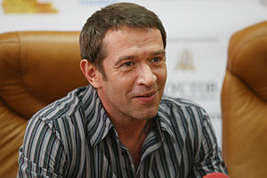 Press-conference of Vladimir Mashkov and Alexei Uchitel - Odessa International Film Festival - 17 July 2010 - 3 - Vladimir Mashkov.jpg