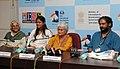 Press Conference by Director, Sumitra Bhave, Sunil Sukhankar, Actor, Devika Daftardar & Actor, Uttara Baokar, at the 43rd International Film Festival of India (IFFI-2012), in Panaji, Goa on November 25, 2012.jpg