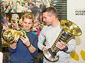 Pressetermin Lukas Podolski und Nico Rosberg, Airport Köln-Bonn-6970.jpg