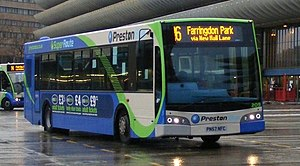 Darwen Group - An Esteem run by Preston Bus.