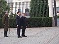 Prezydent Komorowski otrzymuje listy uwierzytelniające 14.JPG
