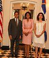 Primera Dama Candida Montilla de Medina at US embassy.jpg