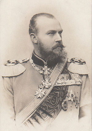 Prince Albert of Prussia (1837–1906) - Image: Prince Albrecht of Prussia in 1883