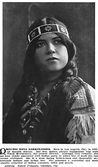 Mona Darkfeather - Who's Who in the Film World: 1914