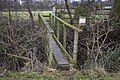 Private footbridge at Clarksons Farm - geograph.org.uk - 1670902.jpg