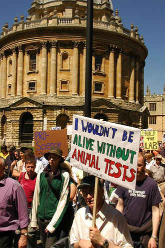 Pro-Test - A Pro-Test march on 3 June 2006, Oxford, UK