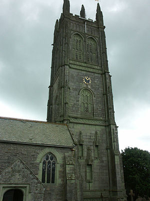 Probus, Cornwall - St. Probus and St. Grace