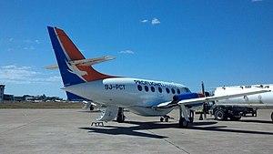 Proflight Zambia - A Proflight Zambia BAe Jetstream 32, pictured at Livingstone in 2013