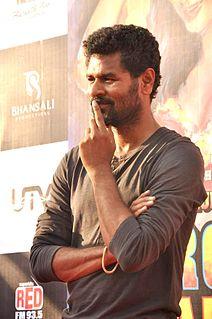 Prabhu Deva Indian choreographer, film director, film producer, and actor