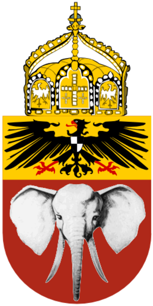 Coats of arms of German colonies - Image: Proposed Coat of Arms Cameroon 1914