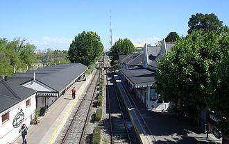 Martínez, Buenos Aires - Anchorena station (Tren de la Costa)