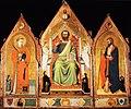 Puccio di Simone. San Matteo fra San Lorenzo e San Iacopo maggiore, ca. 1350, (Monastero di S. Niccolò di Cafaggio (ex), Galleria dell'Accademia.jpg