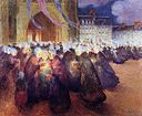Puigaudeau, Ferdinand du - Nightime Procession at Saint-Paul de Leon.jpeg