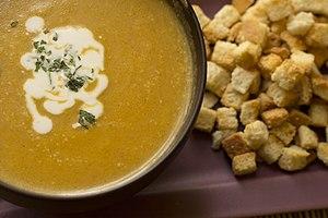 Pumpkin's Thai soup