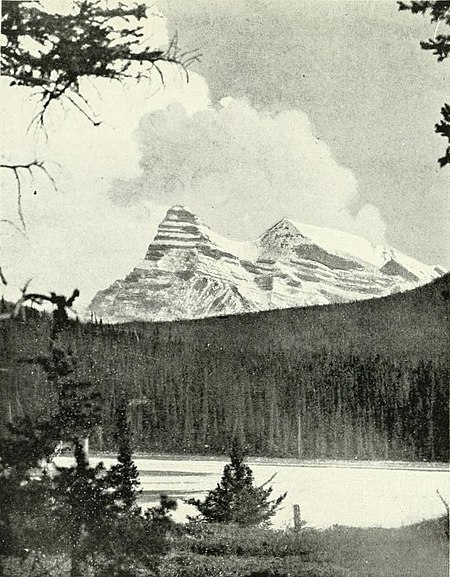 Pyramid Peak from junction of North Fork and Main Saskatchewan.jpg
