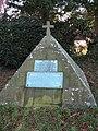 Pyramid Tombstone in Sharow Churchyard - geograph.org.uk - 327872.jpg