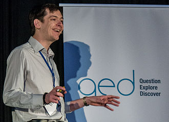 Michael Marshall (skeptic) - Michael Marshall at QED 2015.