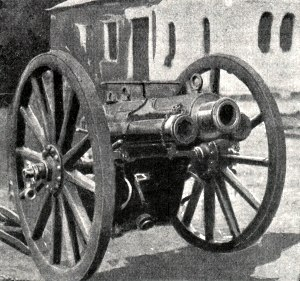 QF 2.95-inch Mountain Gun - British QF 2.95 inch mountain gun, Cameroons and Togoland campaign, WWI