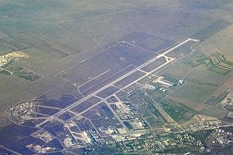Istres-Le Tubé Air Base - Aerial photo of Istres Air Base