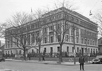 Queens Library - Old Central Library