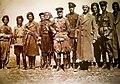 Qazi Muhammed with military leaders.jpg