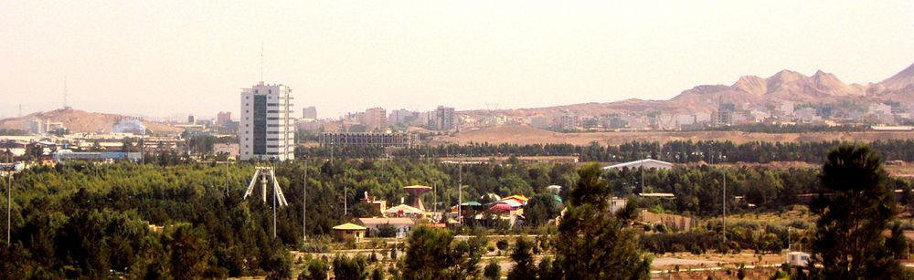 View Of Southwestern Qom