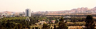 Qom - View Of Southwestern Qom